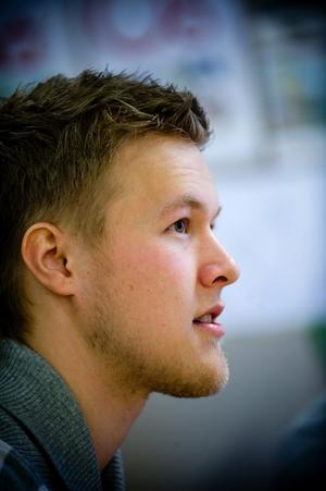 Pontus Hagström. Foto:Mikael Hellsten
