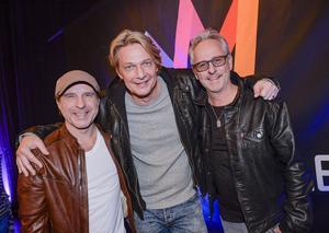 Patrik Isaksson, Tommy Nilsson och Uno Svenningsson tävlar med bidraget