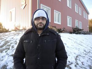 George Farah är själv nöjd med maten, men andra önskar mer arabisk mat, berättar han.