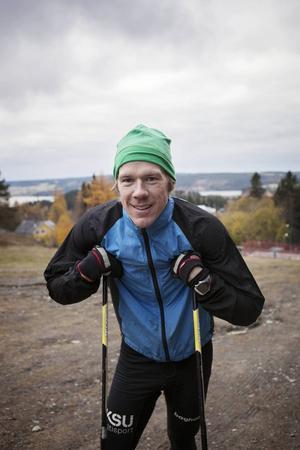 Kristoffer Kvarnlöf har själv gjort lite mer än tio vändor på en timme.