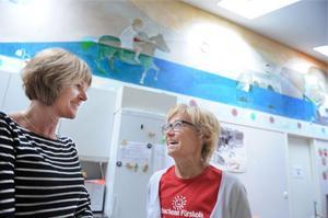 Ing-Mari Dagh och Anna-Karin Persson har drivit Julibacken i 20 år. Den 16 september firar de förskolans jubileum med öppet hus.