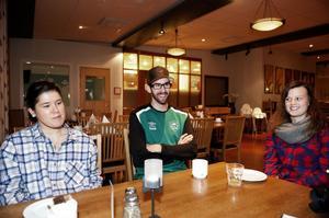 Michaela Sperring, Jonas Carlsson och Beatrice Broman är tre unga ledare och blivande ledare inom Malungs IF:s fotboll. Trion deltog i Dalarnas Fotbollsförbunds och Sisu Idrottsutbildarnas ledarcamp på Lugnet i Falun.
