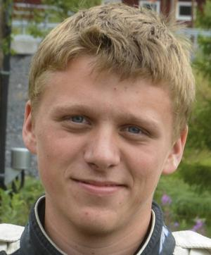 Alexander Westlund var på vippen att ta slutsegern i Rallycross on Ice – men slutade istället trea.