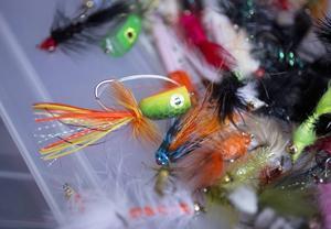 Tafsarna binder de flesta flugfiskare själva.