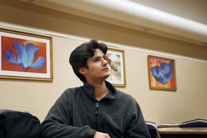 Elias Daoud studerar mycket för att kunna läsa psykologi eller teknik efter gymnasiet.