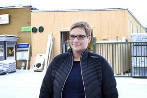 Marina Nilsson, vd för Spira fastigheter, ser positivt på utvecklingen av handelsområde Bollnäs Söder.