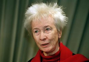 Sara Lidman 1999. Då var Berta Hansson död sedan fem år.