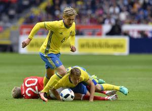 Forsberg gjorde 1–0 mot Wales.