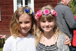 Tuva Vedin och Sofia Bengtsson Ytterhogdal