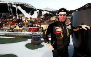 Nyberg och hans Åre. Sundsvalls alpina stjärna väljer Åre, när han flyttar hem från Österrike efter karriärens slut.