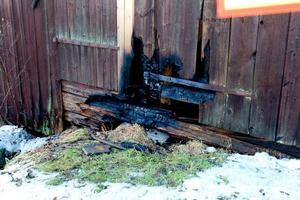 Tidig upptäckt gjorde att skadorna blev små på huset.