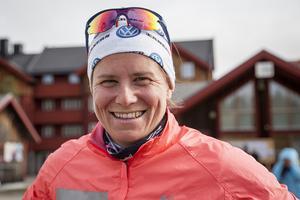 Ida Ingemarsdotter, segrare på 11 kilometer i damklassen.