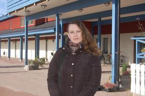 Emma Sundberg hälsar ungdomar och vuxna välkomna till föreningsmässan i Moraparken i helgen.