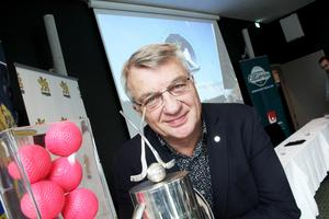 Stig Bertilsson, ordförande i svenska bandyförbundet.