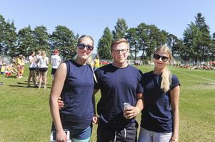 Nästa alla i Lina Malmgård, Markus Mickelsson och Emma Lindbergs lag är från Kilafors.