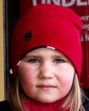 Tove Niskala, 6 år, Torvalla:– Ja. Jag skulle vilja ha en djuraffär, för att det är kul. Jag skulle ha hamstrar och alla sorters djur.