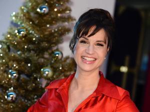 Petra Mede var årets julvärd på SVT och presenterade Kalle Anka och hans vänner.