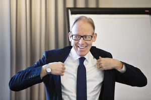 Johan Söderström, vd för ABB Sverige, är en av talarna under kompetensriksdagen...