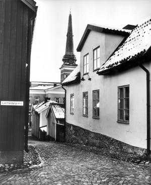 Lykttändargränd 1976.