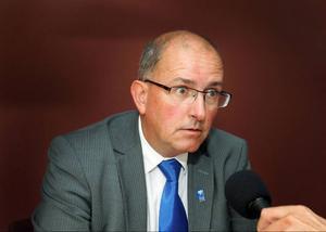 Kommundirektören Bengt Marsh.