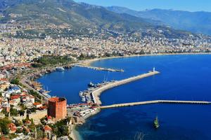 Antalya är den destination vi reste mest till 2013.