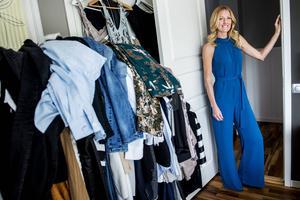 Kläder är viktigt för Eva-Lena som till varje tv-inspelning ska vara en inspirationskälla till andra.