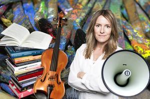 Mittmedias kulturchef och DT:s kulturredaktör, Cecilia Ekebjär