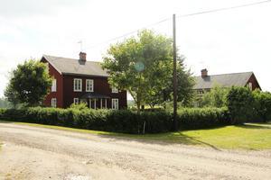 Djupas äldsta bostadshus, byggt 1877.