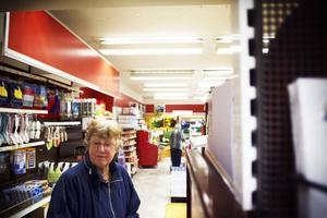 Aina Jonsson kommer i fortsättningen att få åka till Krokom eller Strömsund för att handla mat.