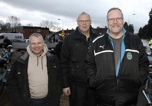 Björn Karlsson och Peter Borell hade åkt från Lotorp utanför Finspång för att träffa vännen Roland Nordlöv och delta i Nyårsvändan.