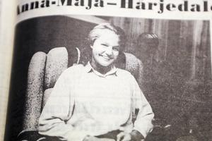 Anna-Maja Holst från Ytterhogdal, duktig fotbollsspelare, valdes till Härjedalens lucia 1986. Sommaren innan blev hon utsedd till bästa spelare i sitt lag, Ytterhogdals dåvarande division 3 lag för damer.