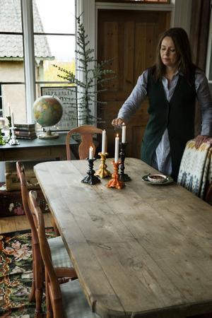 Ljusstaken Barock är en av Mikaela Willers mest populära skapelser. Finns i 20-talet nyanser.