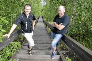 Albin Log ska besegra trappan uppför Kvarntorpshögen för första gången när Öppen trappa arrangeras, medan iniativtagaren Roberth Gyllberg klarat av promenaden flera gånger.