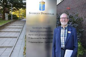Tage Håkansson är Sundsvalls enda vittnesstödjare. Och han har fullt upp.