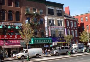 China town. En del av världen i New York.