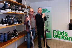 Sala kommuns Leif Myrberg och Åke Lantz är engagerade i Fritidsbanken.