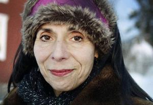Snön och kylan förskräcker inte Livia Vanaver.