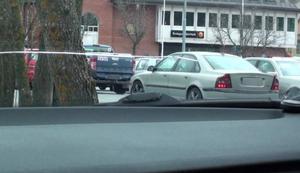 Bild från polisens spaningsarbete i Norrtälje i våras.