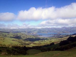 Nya Zeeland bjuder på fantastiska landskap.