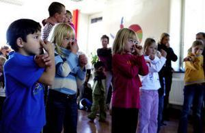 Alla Kullerbyttabarn och Kullerbyttaföräldrar är nöjda och glada över de nya lokalerna.