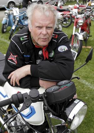 Entusiast. Christer Nilsson är ordförande för Scandinavian Benelli club.