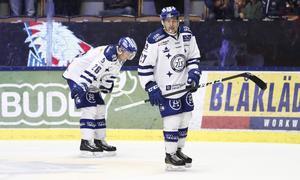 Bortamatchen mot HV 71 slutade med ännu en förlust för Leksands IF.