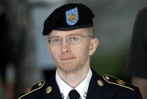 Chelsea Manning, på den tiden Bradley, läckte hundratusentals dokument.