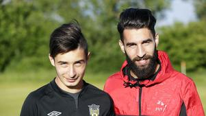 Syrianskas Elias Durmaz är lillebror till landslagsstjärnan Jimmy Durmaz. Foto: Terése Andersson