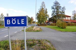 Skolan och restaurangen är navet i Böle och som har drivit på utvecklingen.