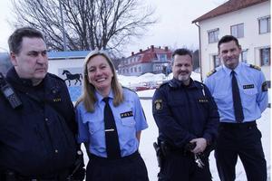 Carin Götblad besökte Nordanstig i februari, och var inte helt nöjd med nuvarande lokal i kommunhuset.