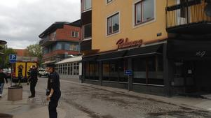 Restaurang på G valde att stänga direkt efter olyckan.