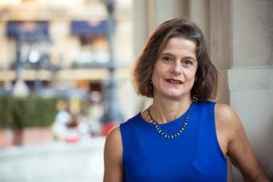 Helen Wessman, Kungliga Musikhögksolans rektor har lyft barnens minskande sång som en ödesdiger framtidsfråga. Fotograf: Horacio Villalobos/TT