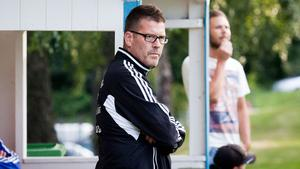 Patrik Parkatti, huvudtränaren i Knäppmora. Foto: Arkiv