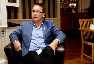 Lennart Westman, ordförande för Svensk Handel i Söderhamn.
